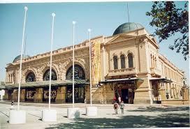 Frontis de Estación Mapocho