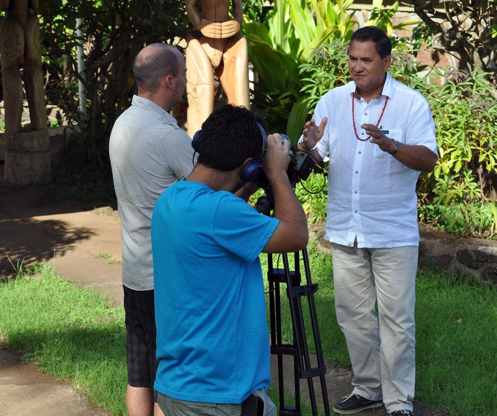 El alcalde de Isla de Pascua, asegura que la fiesta del Tapati representa todos los valores de la cultura rapanui.