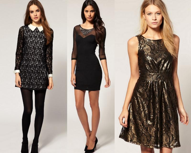 moda en vestidos para cenas de fin de año 5