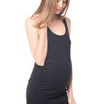 Vestido Sofia Basic Negro Mama·Licious. $10.990