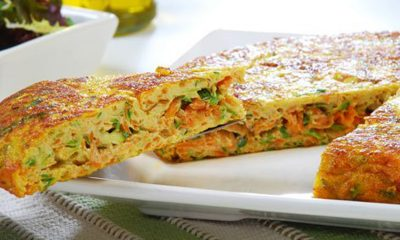 tortilla de verduras